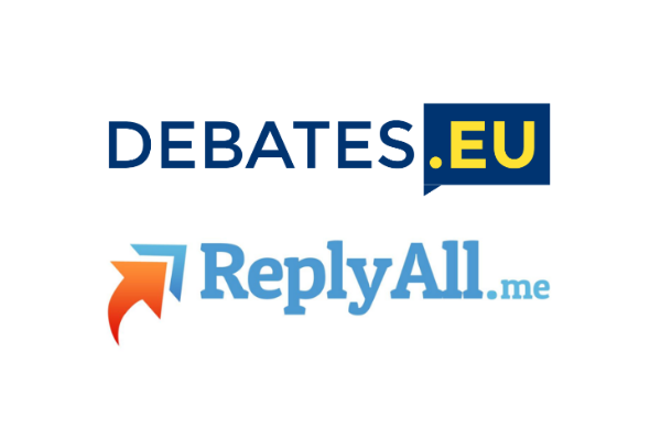Debates.eu, powered by ReplyAll