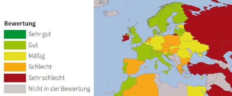 Bewertung der europäischen Staaten [germanwatch.org]